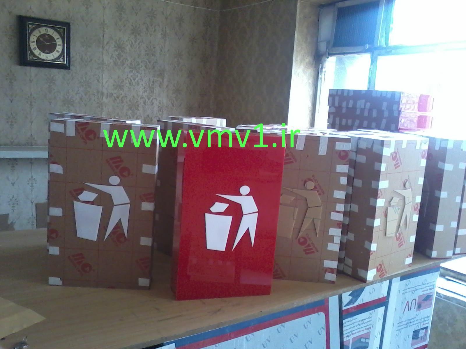 ساخت سطل بازیافت برای کیوسکهای بانک شهر کل کشور